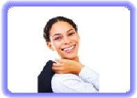 Löcher im Zahn behandeln